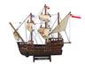 Wooden Santa Maria, Nina and Pinta Model Ship Set - 28