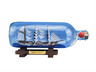 United States Coast Guard USCG Eagle Model Ship In A Glass Bottle 9 - 15