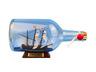 Mayflower Model Ship in a Glass Bottle  9 - 7