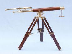 Brass Telescope on Stand 28 - Wood