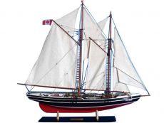 Wooden Bluenose Limited Model Sailboat 35