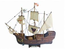 Wooden Santa Maria Limited Tall Model Ship 14\