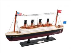 Wooden RMS Titanic Model Cruise Ship 14\