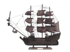 Wooden Flying Dutchman Model Pirate Ship 20\