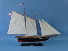Wooden America Model Sailboat Decoration 35\