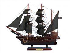 Wooden Blackbeards Queen Annes Revenge Model Pirate Ship 20
