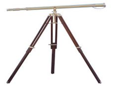 Floor Standing Brass Galileo Telescope 62