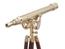 Floor Standing Brass Anchormaster Telescope 65