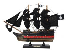Wooden Caribbean Pirate Black Sails Limited Model Pirate Ship 12