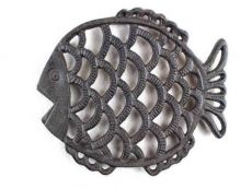 Cast Iron Big Fish Trivet 8