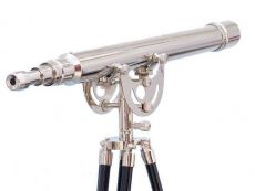 Floor Standing Chrome Anchormaster Telescope 50