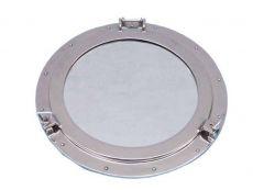 Chrome Decorative Ship Porthole Mirror 24