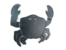 Seaworn Blue Cast Iron Crab Trivet 11