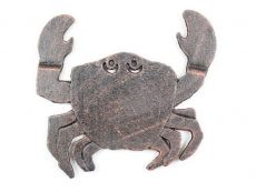 Rustic Copper Cast Iron Crab Trivet 11