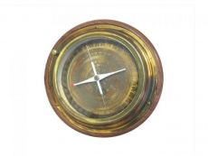 Rustic Brass Directional Desktop Compass 6