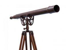 Floor Standing Bronzed Anchormaster Telescope 65