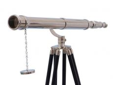 Floor Standing Chrome Galileo Telescope 65