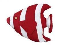 Red Tropical Fish Pillow 18