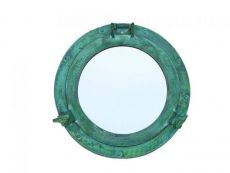 Brass Deluxe Class Titanic Shipwrecked Decorative Ship Porthole Mirror 12