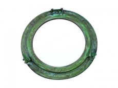 Brass Deluxe Class Titanic Shipwrecked Decorative Ship Porthole Mirror 24