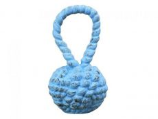 Rustic Light Blue Cast Iron Sailors Knot Door Stopper 10
