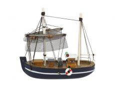 Wooden Fine Catch Model Fishing Boat 6