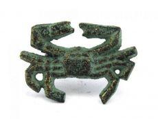 Antique Bronze Cast Iron Crab Napkin Ring 2.5 - set of 2