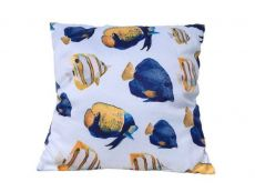 Decorative Butterfly Fish Throw Pillow 16