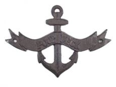 Cast Iron Poop Deck Anchor Sign 8