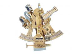 Titanic White Star Lines Sextant with Rosewood Box 5