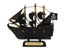 Black Pearl Pirates of the Caribbean Pirate Ship Model 4
