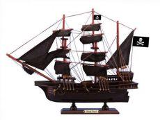 Wooden Black Pearl Black Sails Pirate Ship Model 15