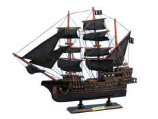 Wooden Black Bart\'s Royal Fortune Model Pirate Ship 15\