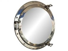 Chrome Decorative Ship Porthole Mirror 20\