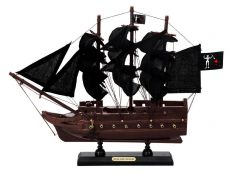Wooden Blackbeards Queen Annes Revenge Black Sails Model Pirate Ship 12