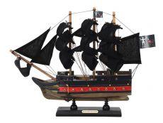 Wooden Blackbeards Queen Annes Revenge Black Sails Limited Model Pirate Ship 12