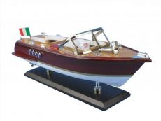 Wooden Riva Aquarama Model Speed Boat 14