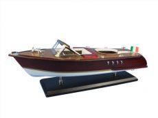 Wooden Riva Aquarama Model Speed Boat 20\