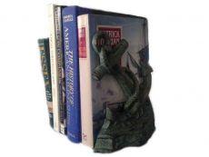 Set of 2- Antique Seaworn Bronze Cast Iron Anchor Book Ends 8