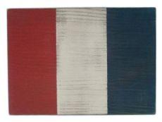 Letter T Rustic Wooden Nautical Alphabet Flag Decoration 16