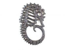Cast Iron Seahorse Trivet 6