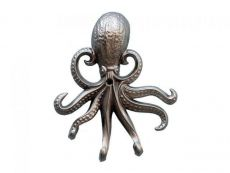 Silver Finish Wall Mounted Octopus Hooks 7