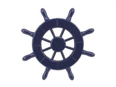 Dark Blue Decorative Ship Wheel 6