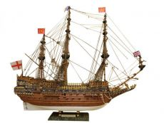 Wooden Sovereign of the Seas Limited Tall Model Ship 39 - Without Sails