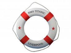 RMS Titanic Decorative Lifering 20\
