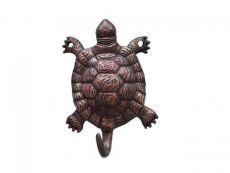Antique Copper Turtle Hook 6