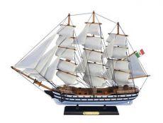 Wooden Amerigo Vespucci 24 Tall Model Ship