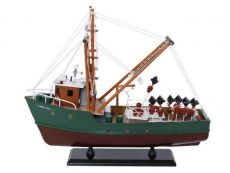 Wooden Andrea Gail - The Perfect Storm Model Boat 16