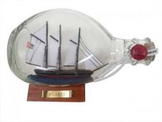 Atlantic Sailboat in a Glass Bottle 7\