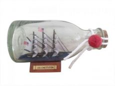 USS Constitution Model Ship in a Glass Bottle 5